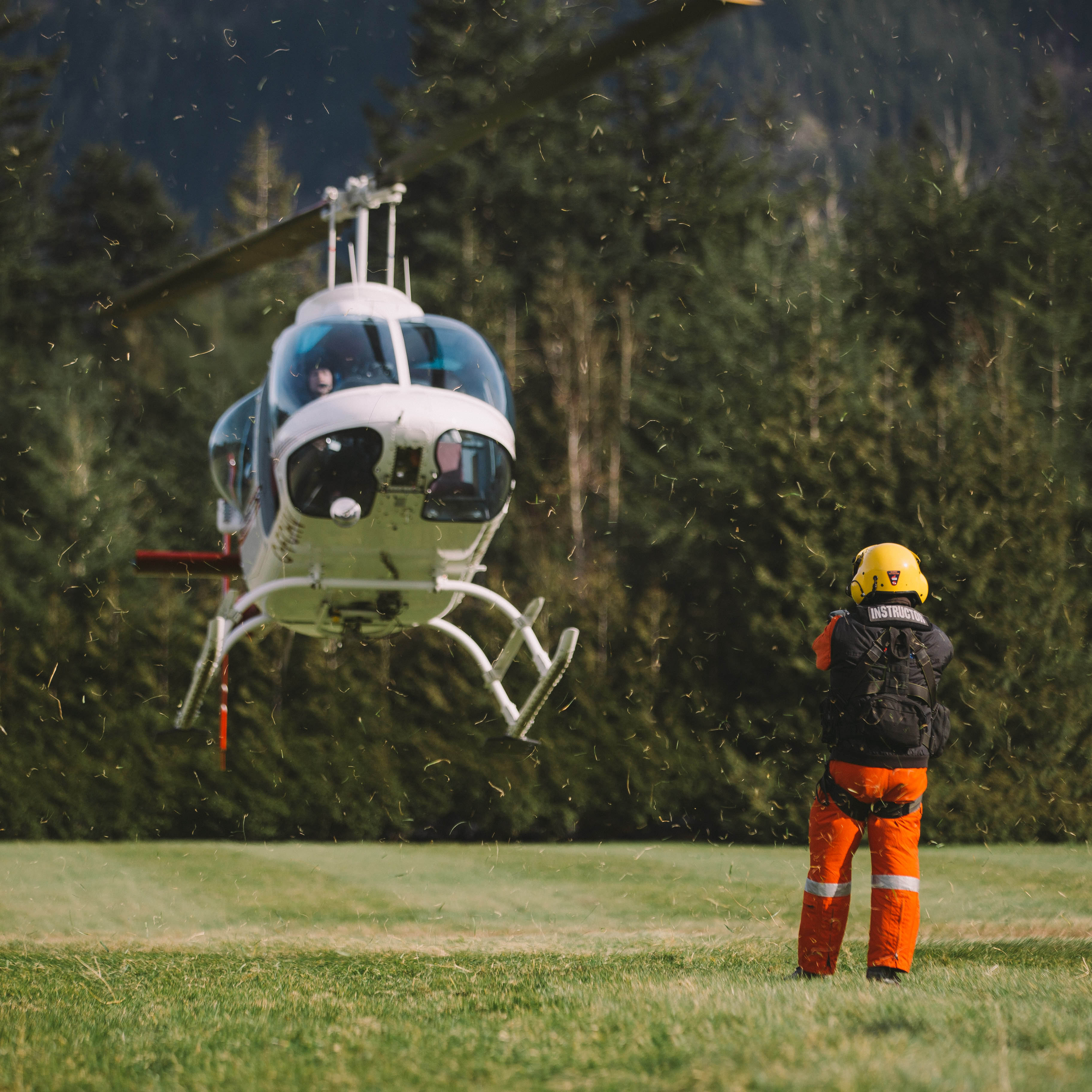 Helicopter Training | Outdoor Rescue & Safety Training