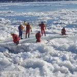 Ice rescue & safety training