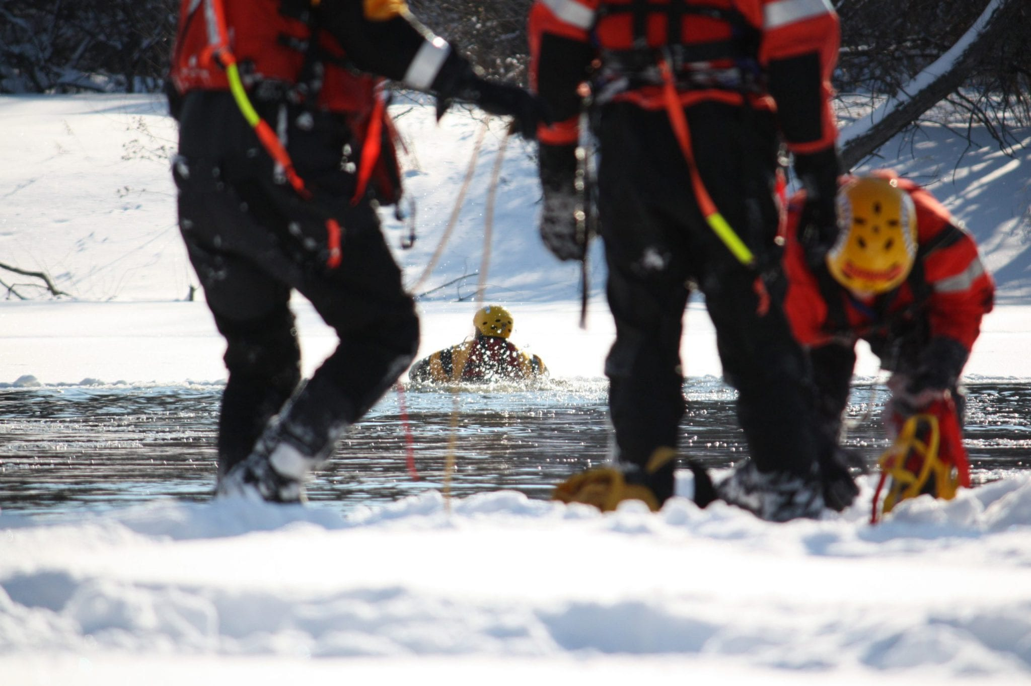 Ice Safety and Rescue Training